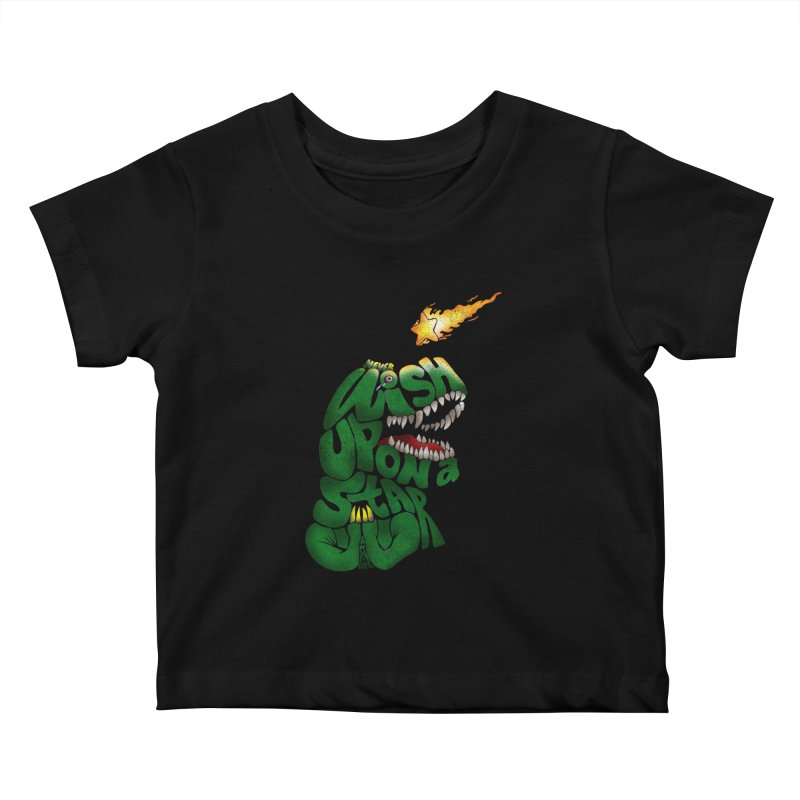 Wish upon a star Kids Baby T-Shirt by kooky love's Artist Shop