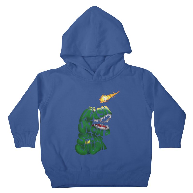 Wish upon a star Kids Toddler Pullover Hoody by kooky love's Artist Shop