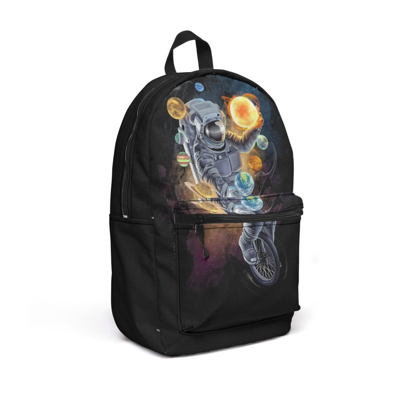 Jugglernaut Accessories Backpack Bag by kooky love's Artist Shop