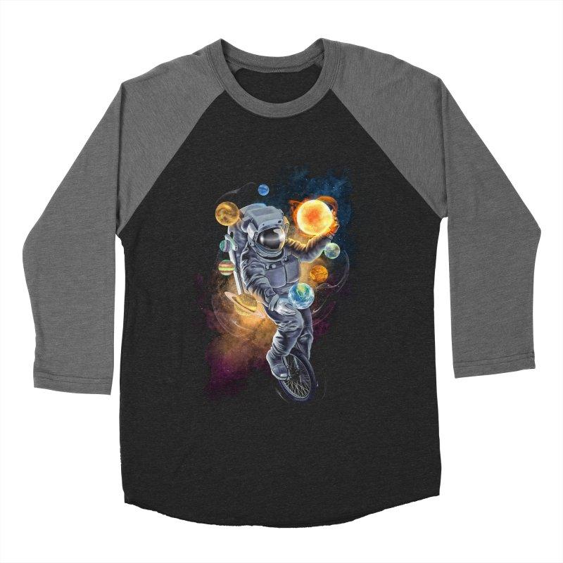 Jugglernaut Men's Baseball Triblend Longsleeve T-Shirt by kooky love's Artist Shop