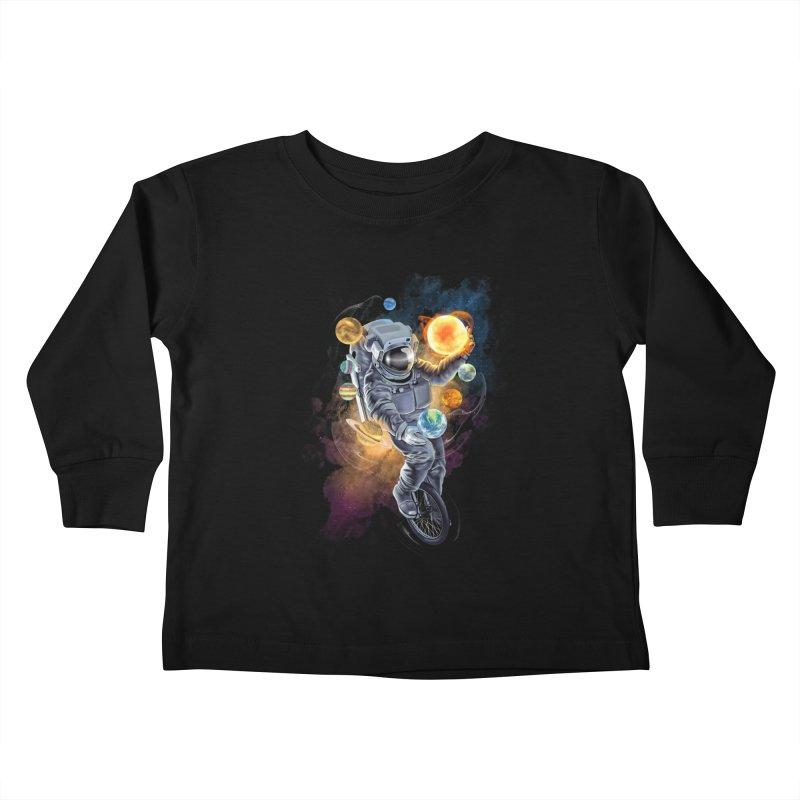 Jugglernaut Kids Toddler Longsleeve T-Shirt by kooky love's Artist Shop