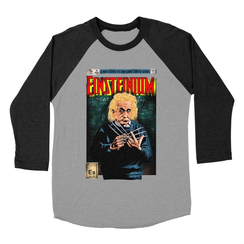 Einsteinium Men's Baseball Triblend Longsleeve T-Shirt by kooky love's Artist Shop