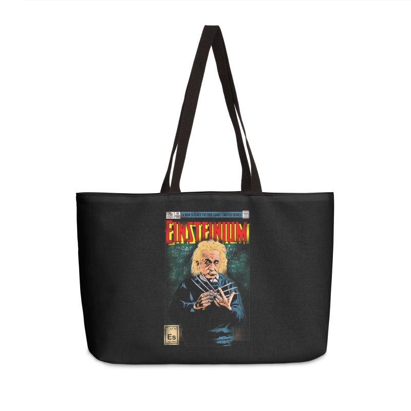 Einsteinium Accessories Weekender Bag Bag by kooky love's Artist Shop