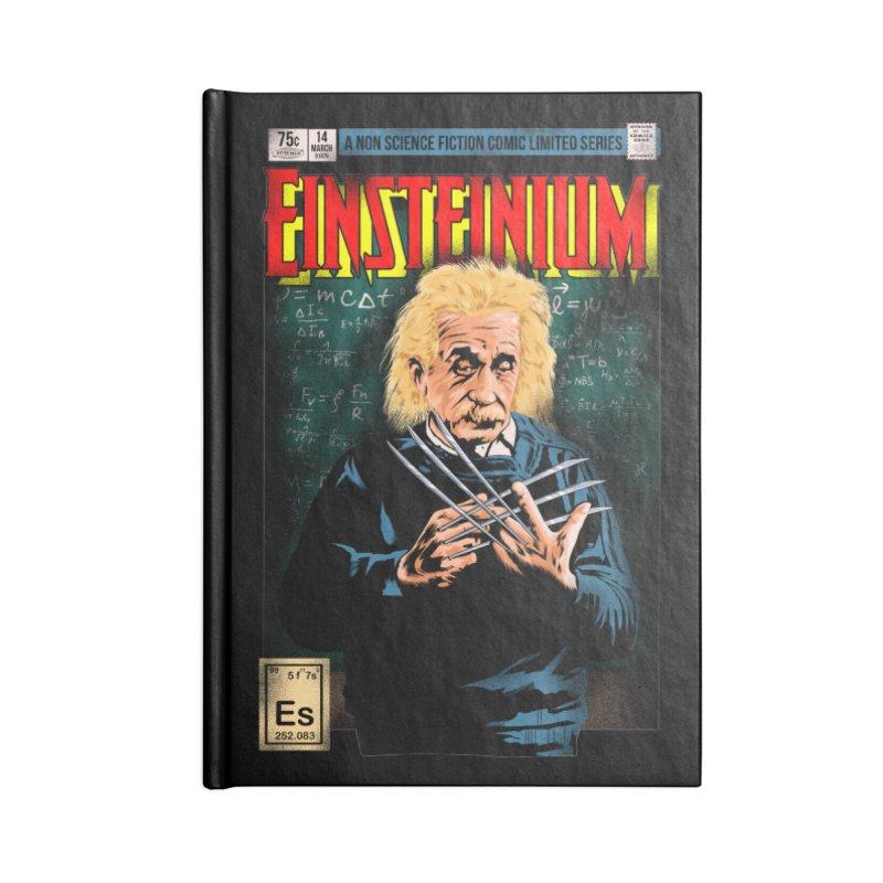Einsteinium Accessories Lined Journal Notebook by kooky love's Artist Shop