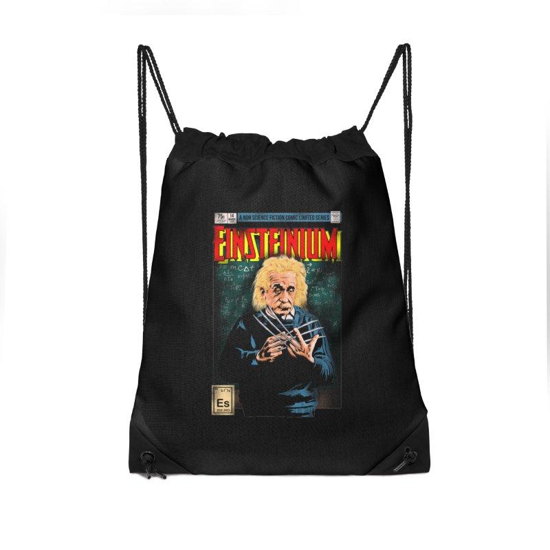 Einsteinium Accessories Drawstring Bag Bag by kooky love's Artist Shop