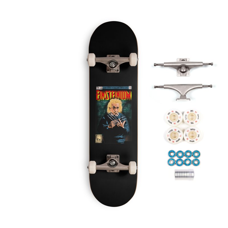 Einsteinium Accessories Complete - Premium Skateboard by kooky love's Artist Shop