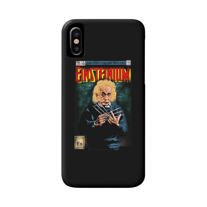 Einsteinium Accessories Phone Case by kooky love's Artist Shop