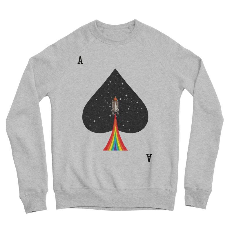 Sp(ace) Men's Sponge Fleece Sweatshirt by kooky love's Artist Shop