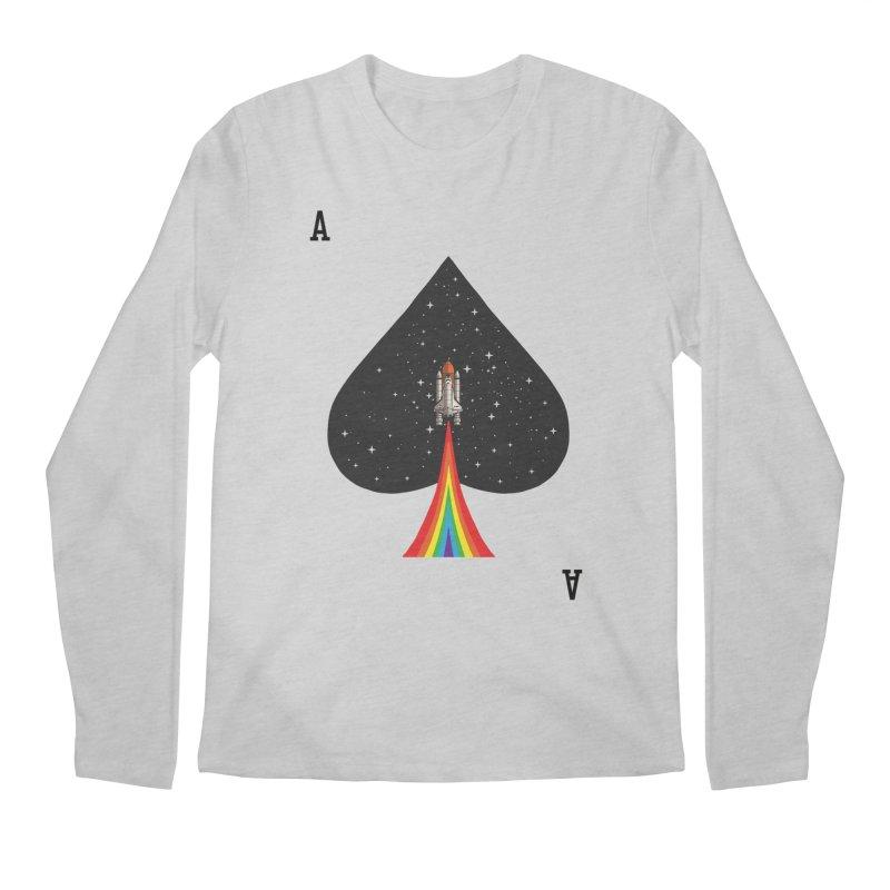 Sp(ace) Men's Regular Longsleeve T-Shirt by kooky love's Artist Shop