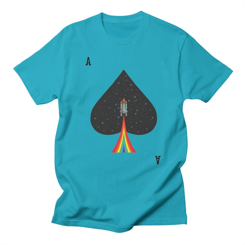 Sp(ace) Men's Regular T-Shirt by kooky love's Artist Shop
