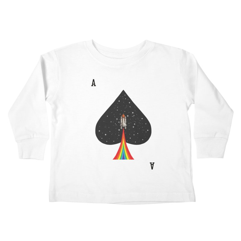 Sp(ace) Kids Toddler Longsleeve T-Shirt by kooky love's Artist Shop