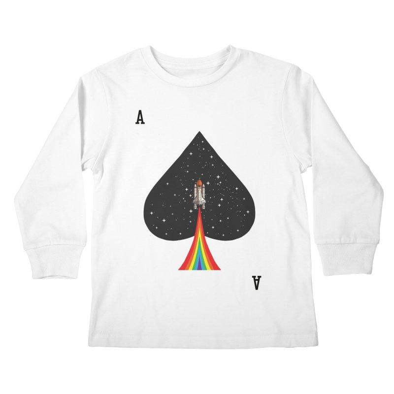 Sp(ace) Kids Longsleeve T-Shirt by kooky love's Artist Shop