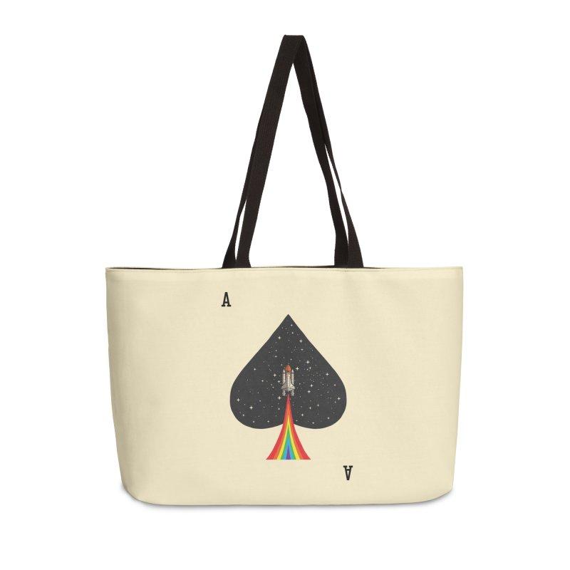 Sp(ace) Accessories Weekender Bag Bag by kooky love's Artist Shop