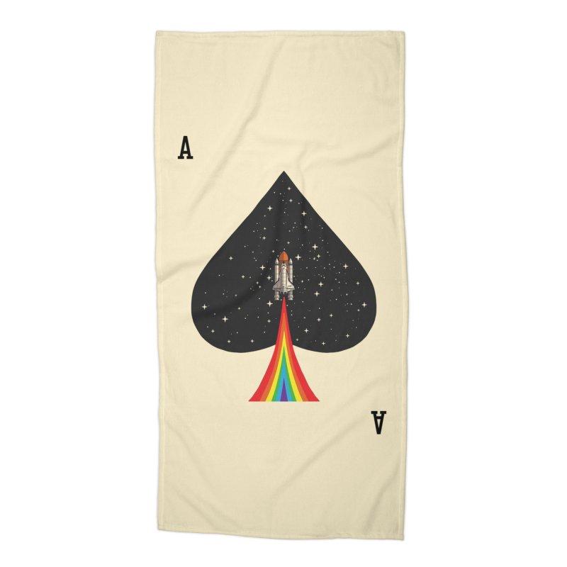 Sp(ace) Accessories Beach Towel by kooky love's Artist Shop