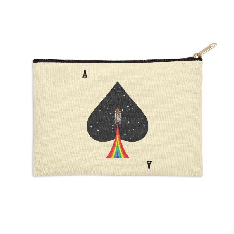 Sp(ace) Accessories Zip Pouch by kooky love's Artist Shop