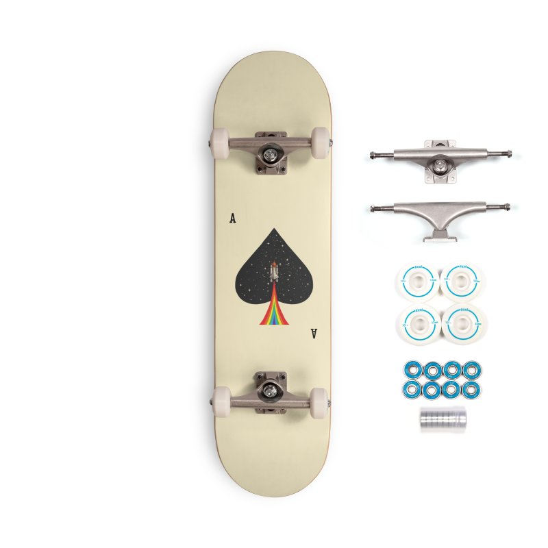 Sp(ace) Accessories Complete - Basic Skateboard by kooky love's Artist Shop