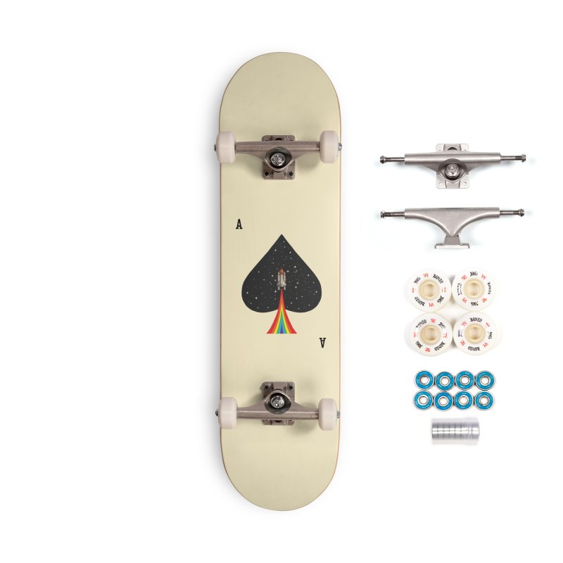 Sp(ace) Accessories Complete - Premium Skateboard by kooky love's Artist Shop