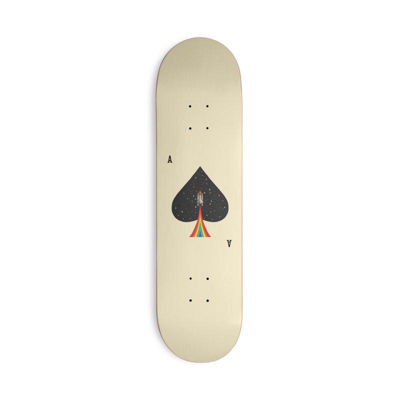 Sp(ace) Accessories Deck Only Skateboard by kooky love's Artist Shop