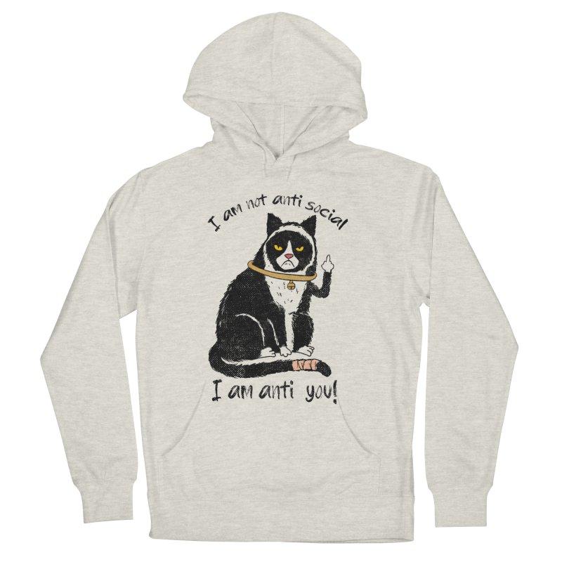Anti you Men's Pullover Hoody by kooky love's Artist Shop