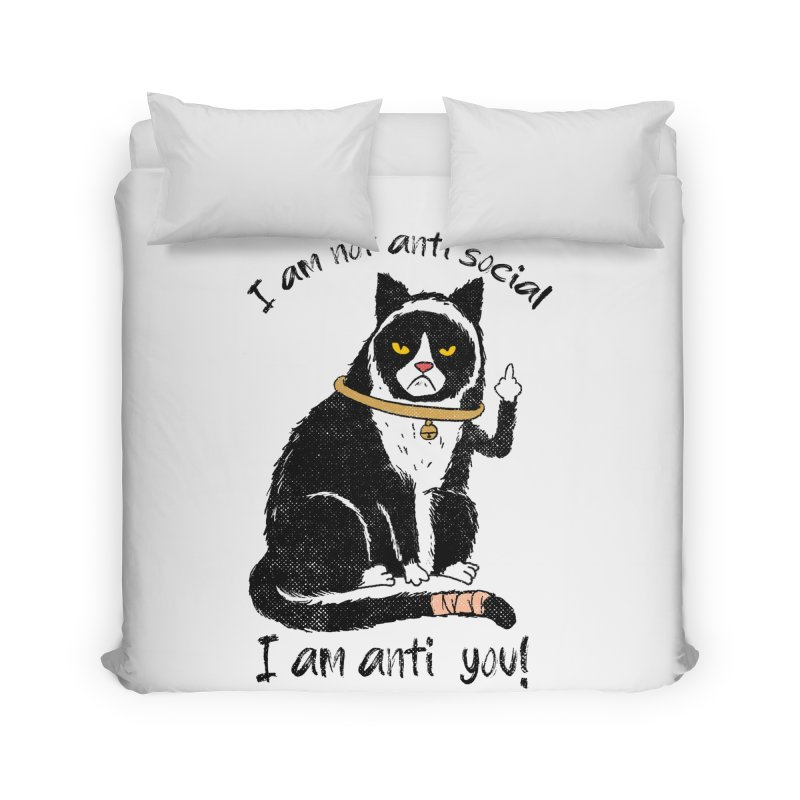 Anti you Home Duvet by kooky love's Artist Shop