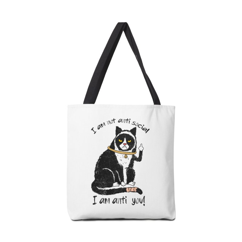 Anti you Accessories Tote Bag Bag by kooky love's Artist Shop