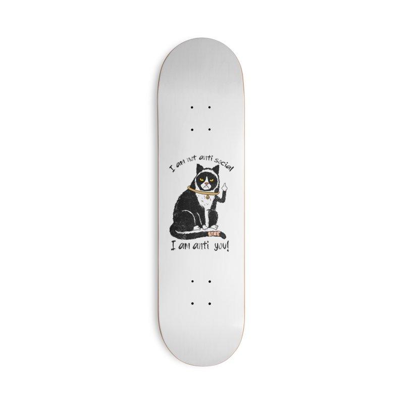 Anti you Accessories Deck Only Skateboard by kooky love's Artist Shop