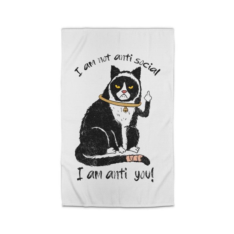 Anti you Home Rug by kooky love's Artist Shop