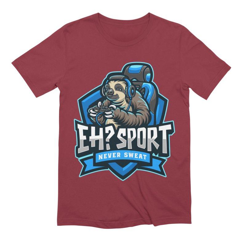 EH? SPORT Men's Extra Soft T-Shirt by kooky love's Artist Shop