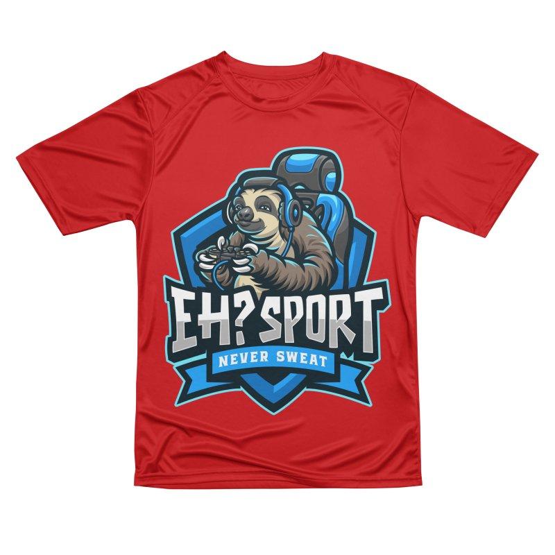 EH? SPORT Men's Performance T-Shirt by kooky love's Artist Shop