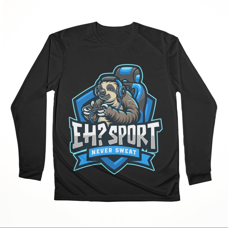 EH? SPORT Men's Performance Longsleeve T-Shirt by kooky love's Artist Shop