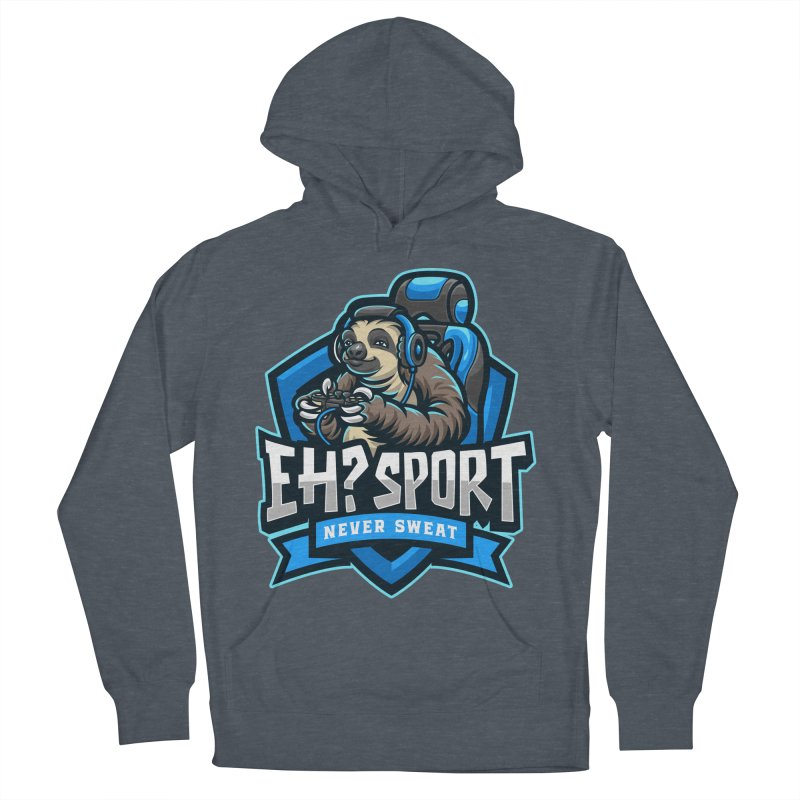 EH? SPORT Women's French Terry Pullover Hoody by kooky love's Artist Shop
