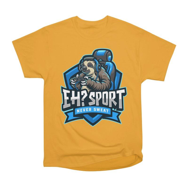 EH? SPORT Men's Heavyweight T-Shirt by kooky love's Artist Shop