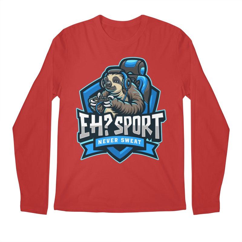 EH? SPORT Men's Regular Longsleeve T-Shirt by kooky love's Artist Shop