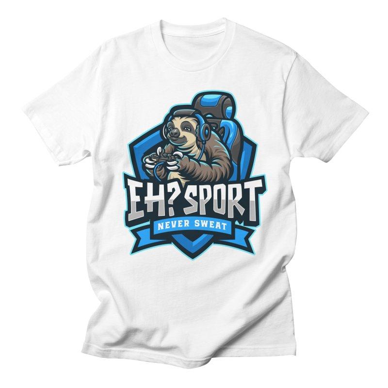EH? SPORT Men's Regular T-Shirt by kooky love's Artist Shop