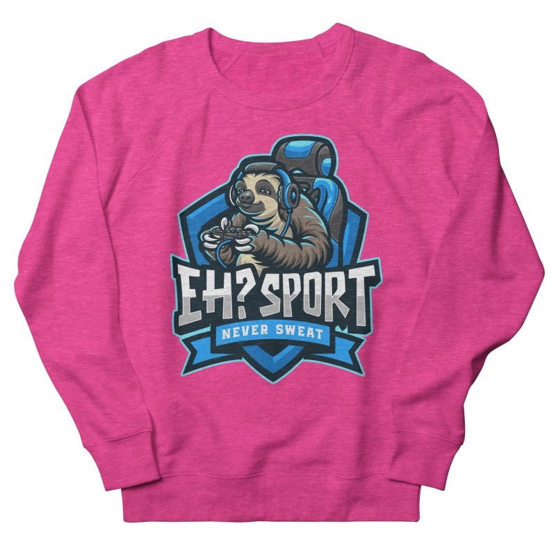 EH? SPORT Men's French Terry Sweatshirt by kooky love's Artist Shop