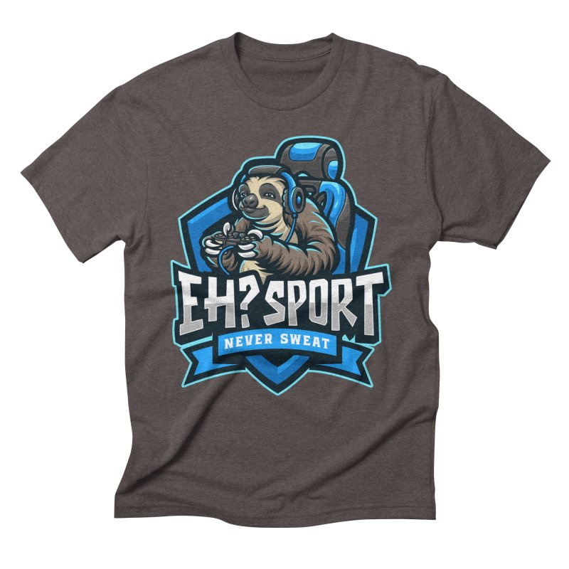 EH? SPORT Men's Triblend T-Shirt by kooky love's Artist Shop