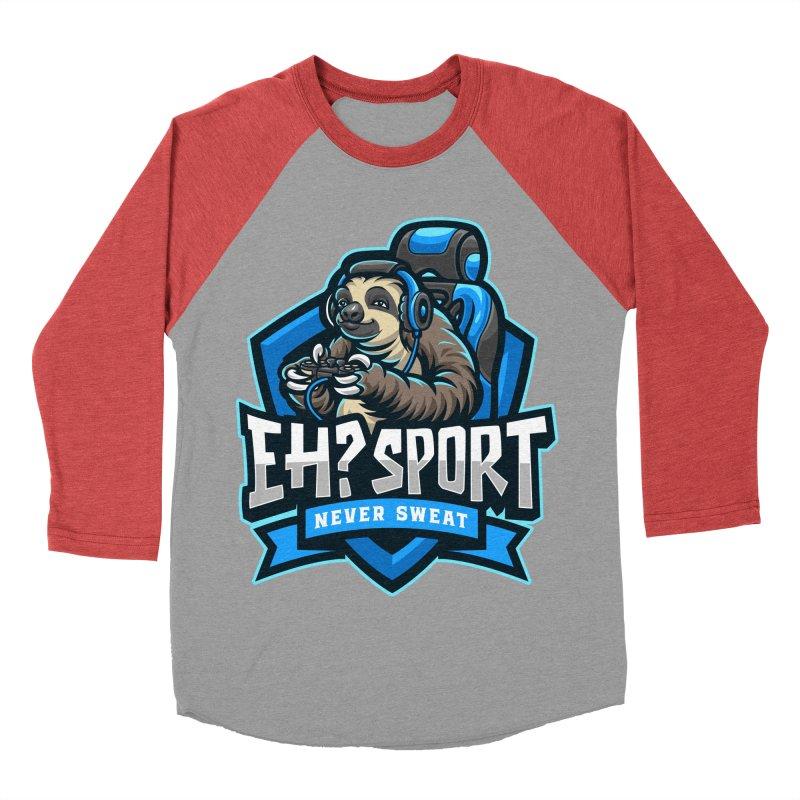 EH? SPORT Men's Baseball Triblend Longsleeve T-Shirt by kooky love's Artist Shop