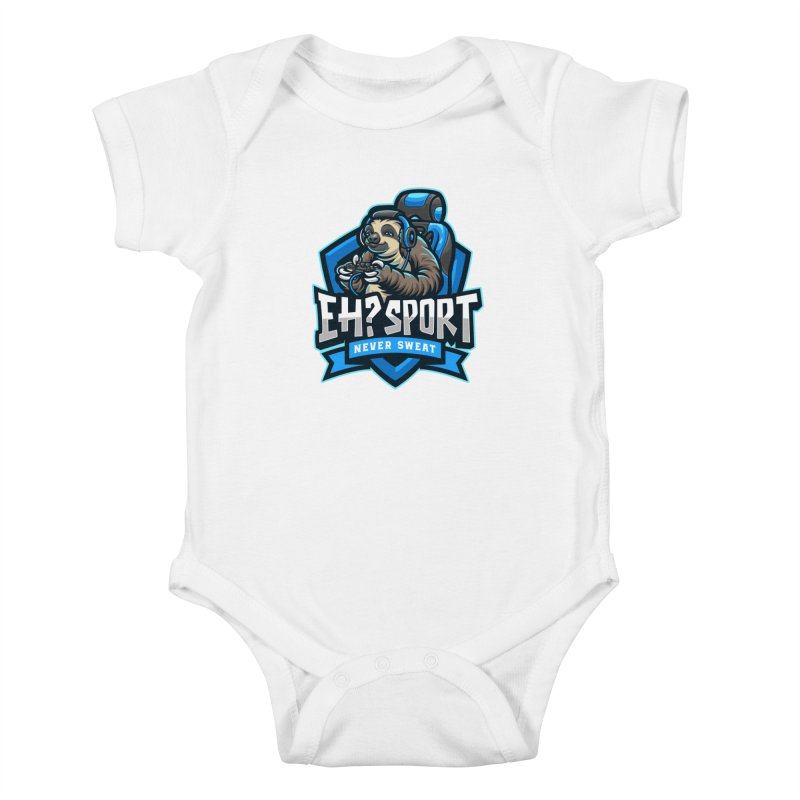 EH? SPORT Kids Baby Bodysuit by kooky love's Artist Shop