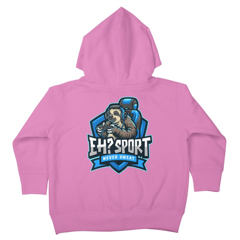 EH? SPORT Kids Toddler Zip-Up Hoody by kooky love's Artist Shop