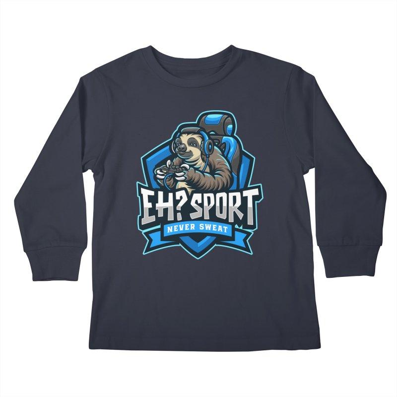 EH? SPORT Kids Longsleeve T-Shirt by kooky love's Artist Shop