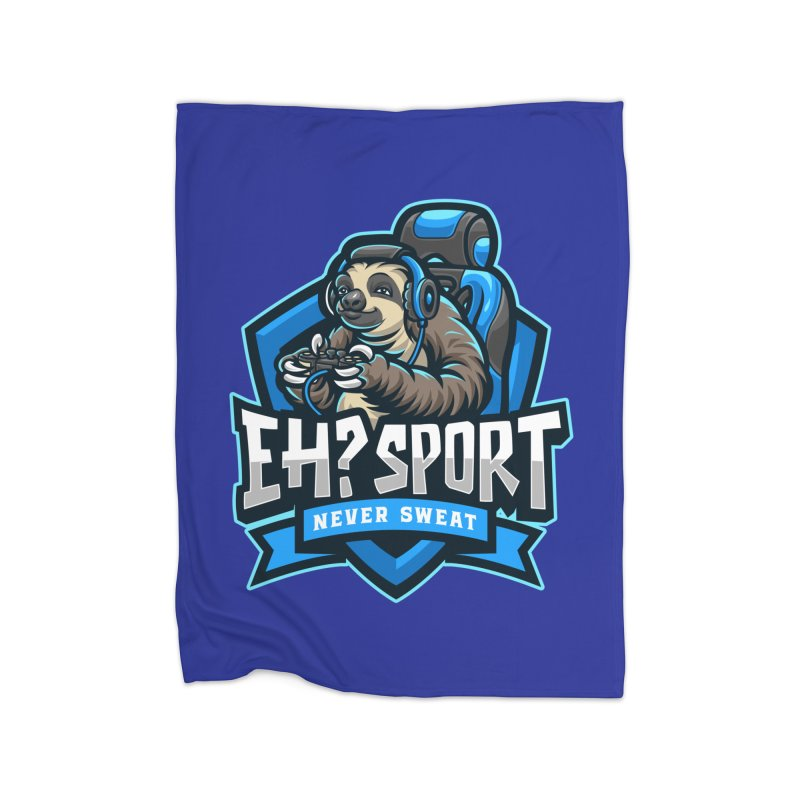 EH? SPORT Home Fleece Blanket Blanket by kooky love's Artist Shop