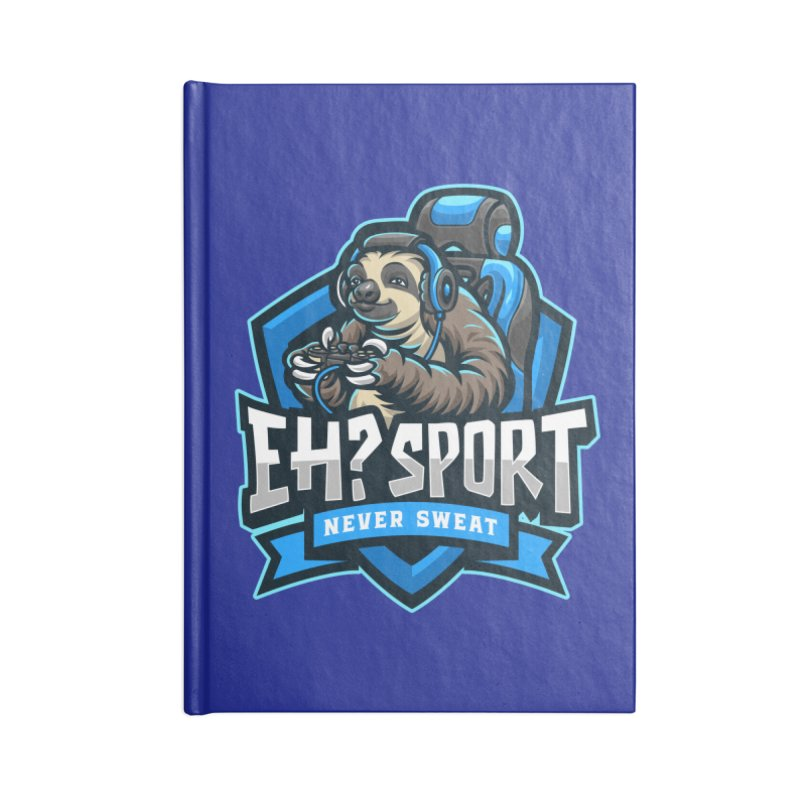 EH? SPORT Accessories Blank Journal Notebook by kooky love's Artist Shop