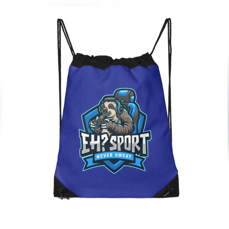 EH? SPORT Accessories Drawstring Bag Bag by kooky love's Artist Shop