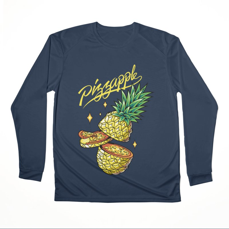 Pizzapple Men's Performance Longsleeve T-Shirt by kooky love's Artist Shop