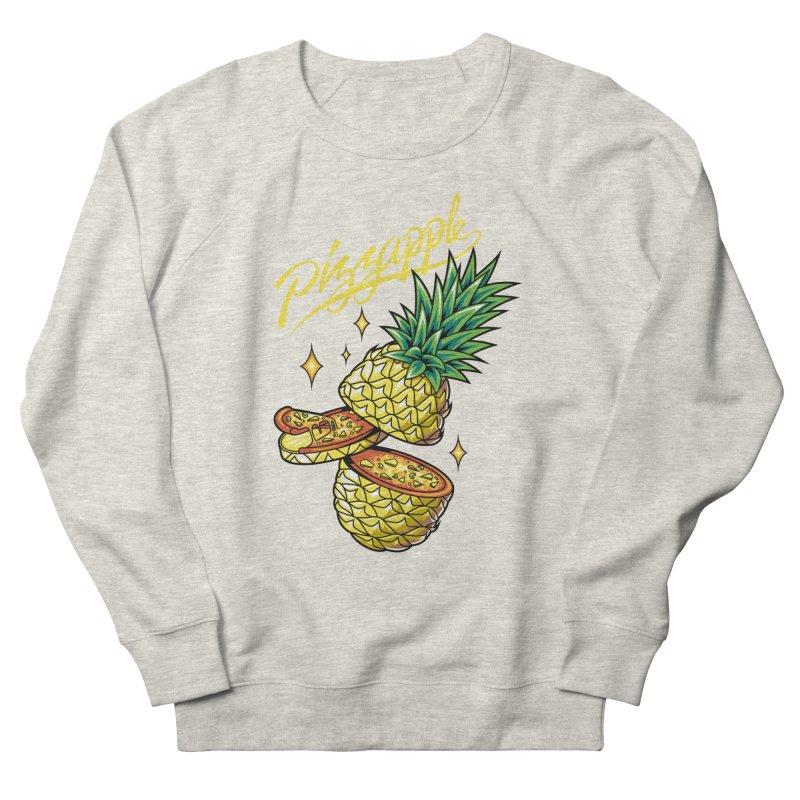 Pizzapple Women's French Terry Sweatshirt by kooky love's Artist Shop