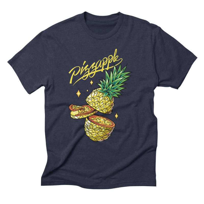Pizzapple Men's Triblend T-Shirt by kooky love's Artist Shop