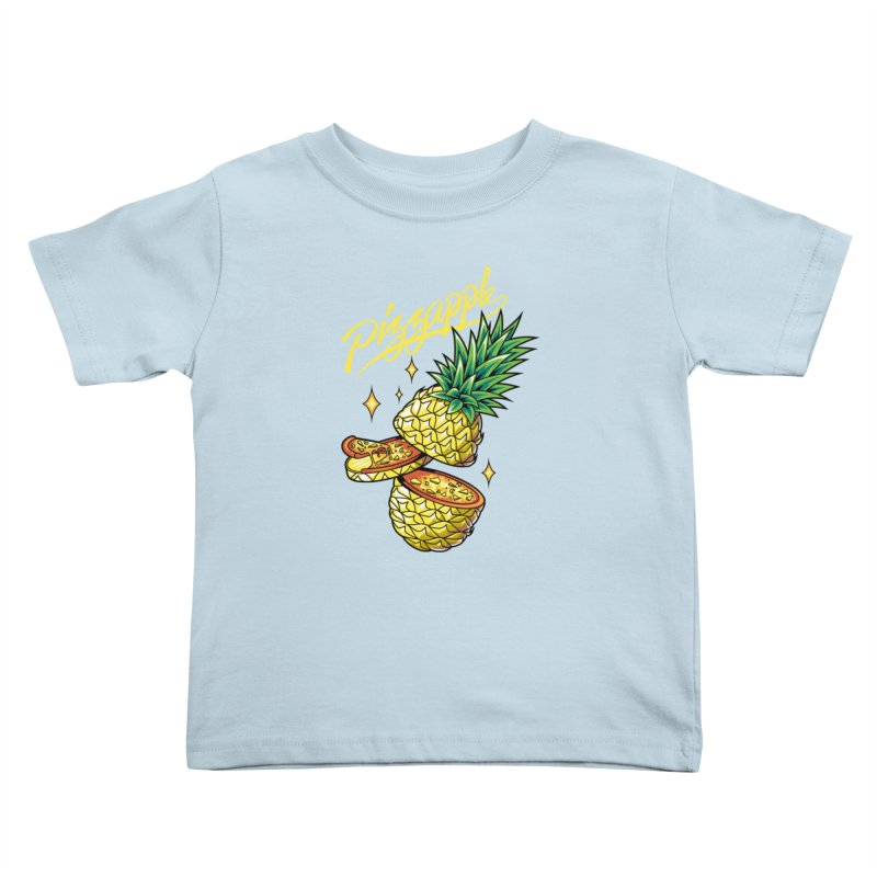 Pizzapple Kids Toddler T-Shirt by kooky love's Artist Shop