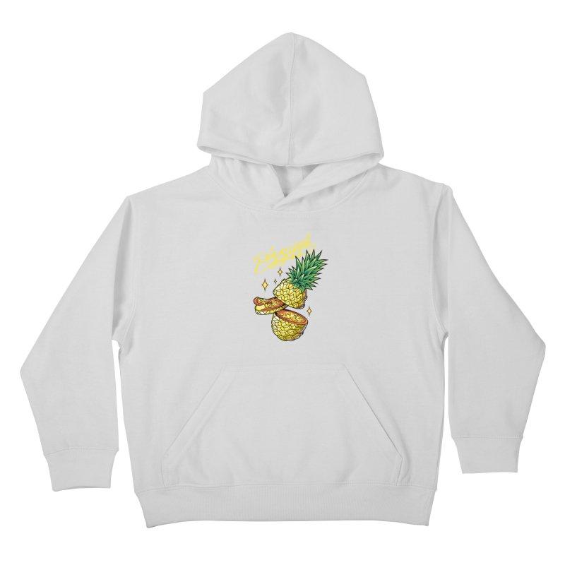 Pizzapple Kids Pullover Hoody by kooky love's Artist Shop