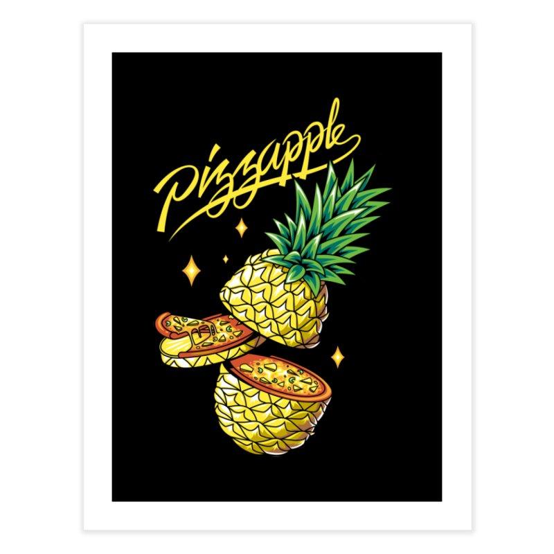 Pizzapple Home Fine Art Print by kooky love's Artist Shop