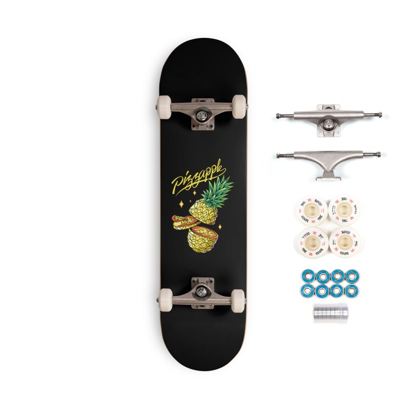Pizzapple Accessories Complete - Premium Skateboard by kooky love's Artist Shop
